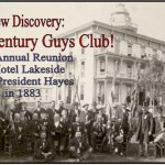 Hayes Guys Club 1883 Reunion