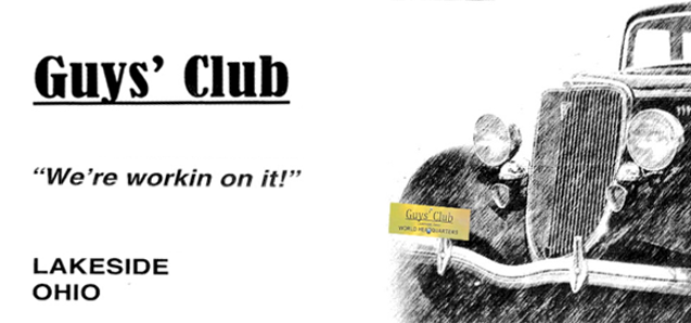 The official seal of the Guys' Club Headquarters.
