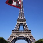 Quilt on Eifel Tower